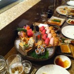 Sushi blow out